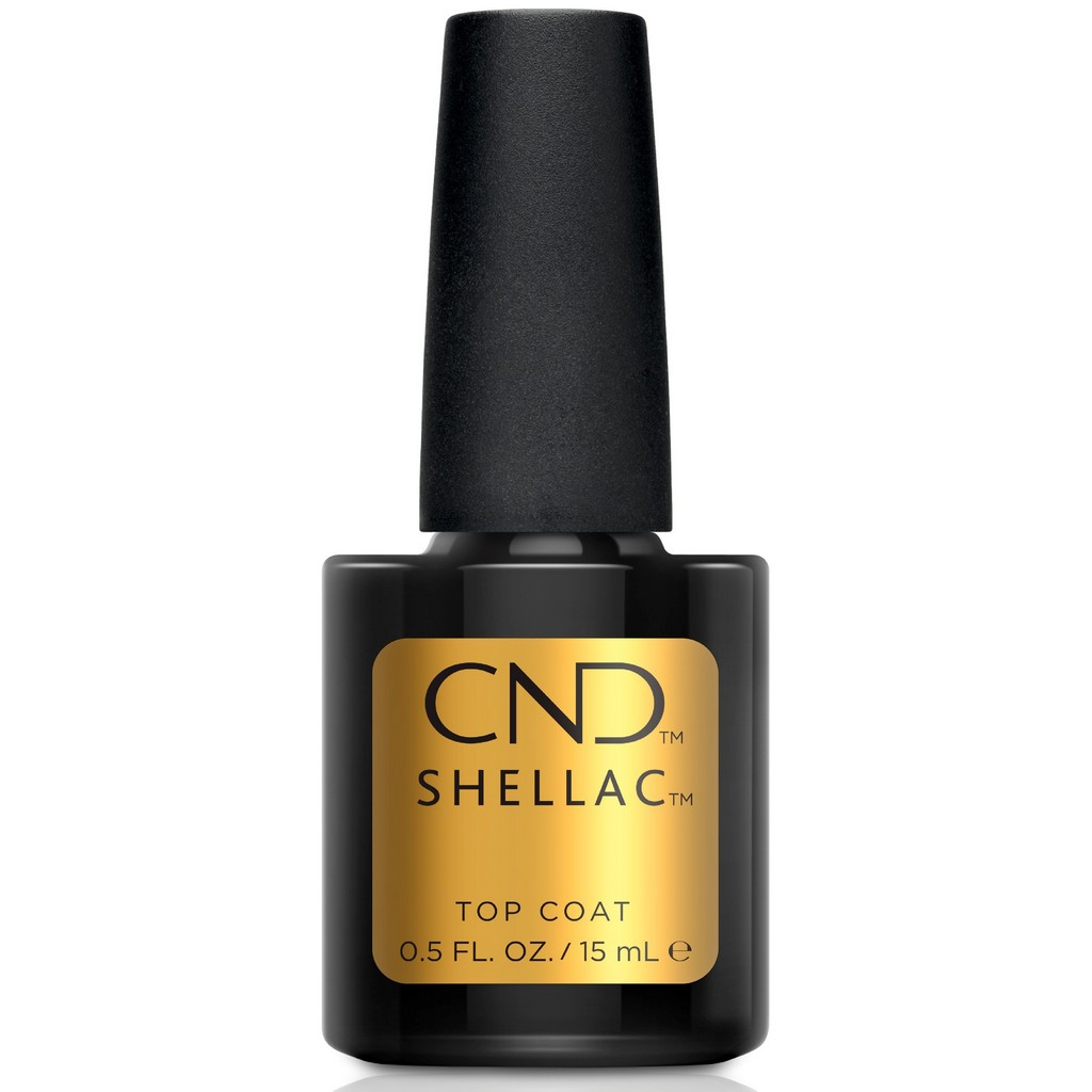 Верхнее покрытие CND Shellac UV Original Top Coat 15 мл