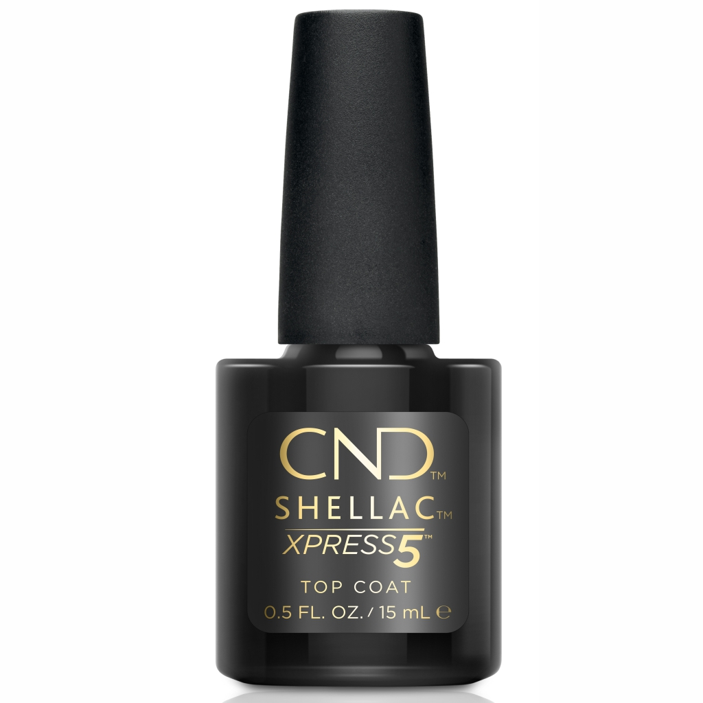 Верхнее покрытие CND Shellac Xpress5 Top Coat 15 мл
