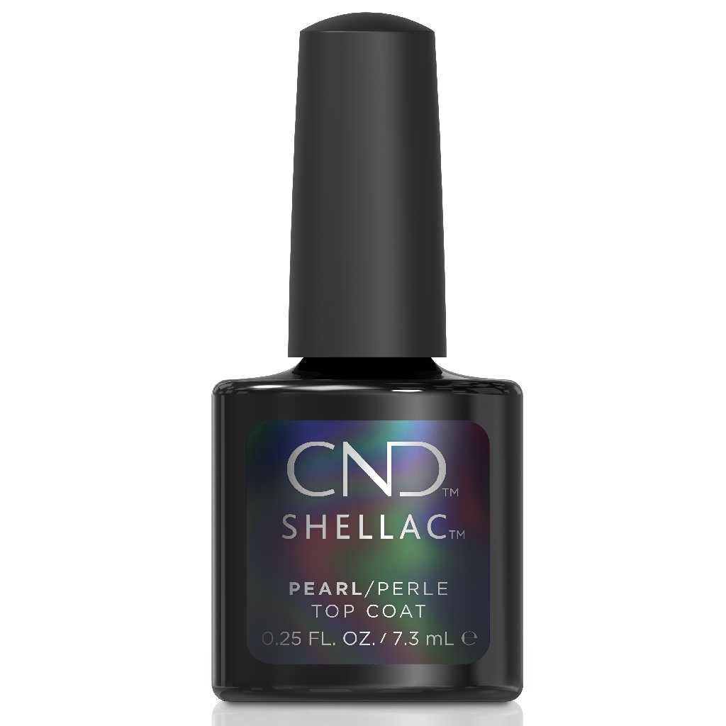 Верхнее покрытие CND Shellac Pearl Top Coat 7,3 мл