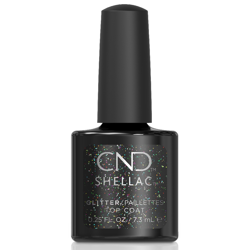 Верхнее покрытие CND Shellac Glitter Top Coat 7,3 мл