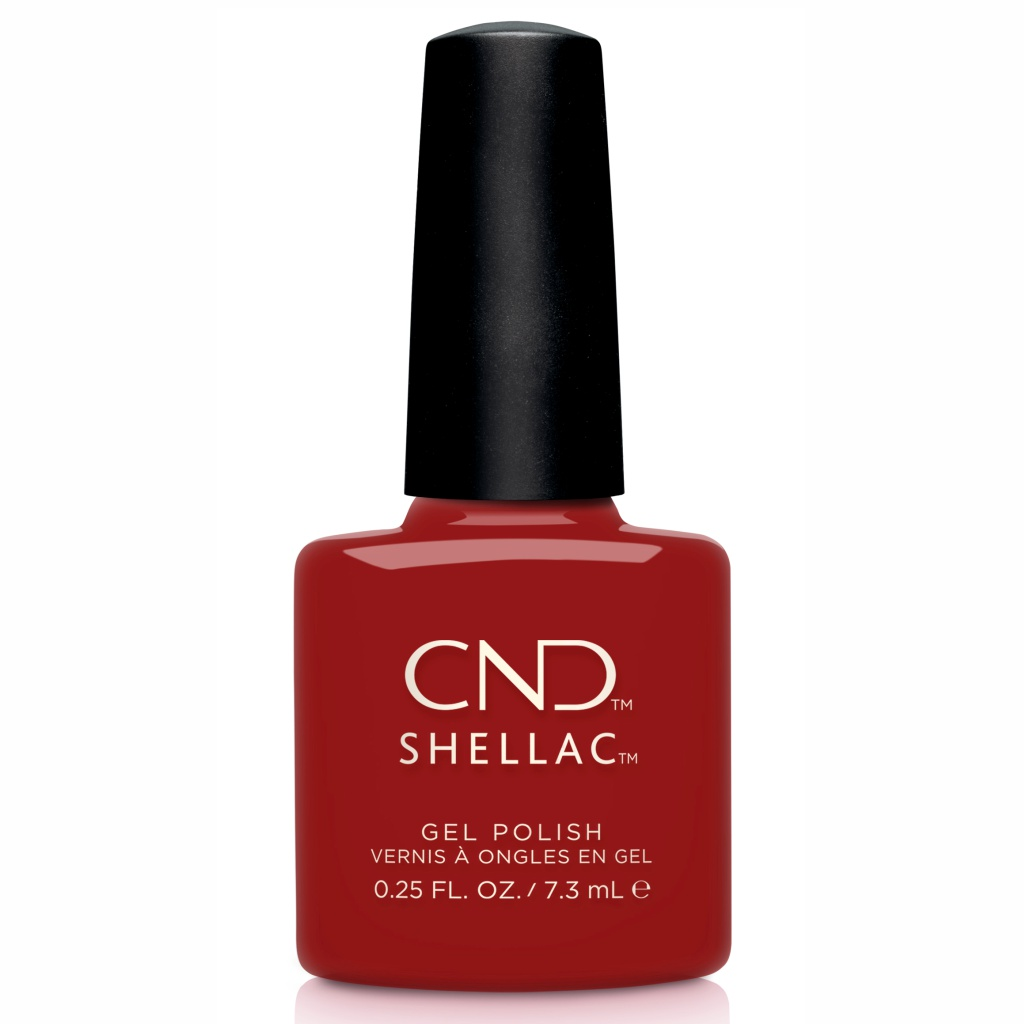 Гелевое покрытие CND Shellac Bordeaux Babe #365
