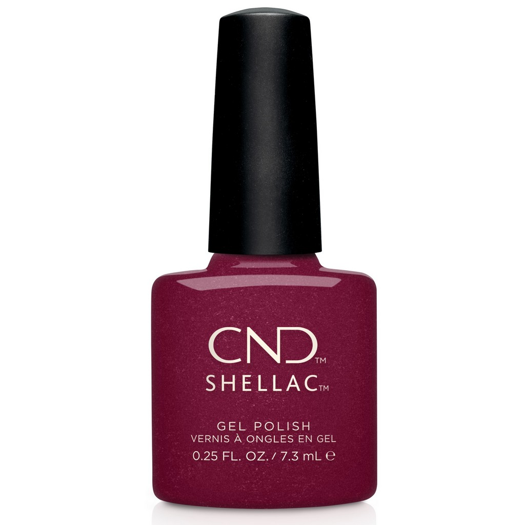 Гелевое покрытие CND Shellac Rebellious ruby